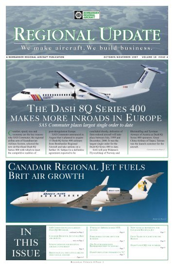IN THIS ISSUE - Bombardier