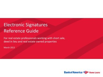 Electronic Signatures Reference Guide - Agent Resource Center