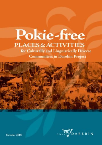 Pokie-free PLACES & ACTIVITIES - City of Darebin