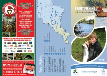 Trout Fishing download brochure - South West Lakes Trust