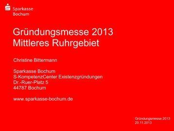 Finanzierung - STARTERCENTER Mittleres Ruhrgebiet