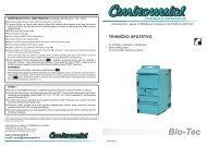Bio-Tec-25/35/45 - Tehničke upute - Centrometal