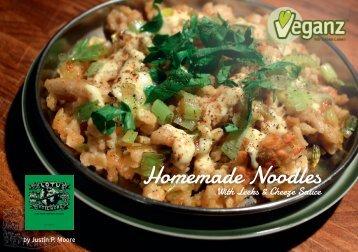 Homemade Noodles - Veganz