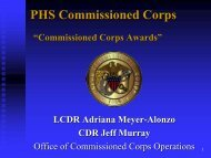 awards… - U.S. Public Health Service Commissioned Corps