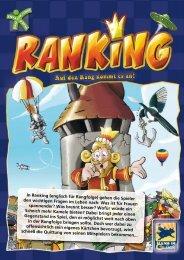In Ranking (englisch für Rangfolge) gehen die Spieler den ...