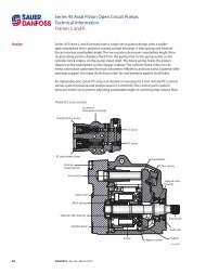 Series 45 Axial Piston Open Circuit Pumps Technical Information ...