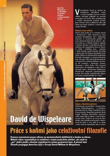 David de Wispeleare - Nakladatelství MINERVA CZ