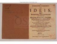 Dissertatio Academica de ideis, quam .. sub praesidio Joh. Wolfg ...