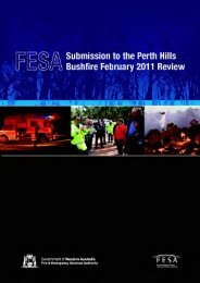 Inquiry - Perth Hills Bushfire 2011 - Submissions 73 part 2