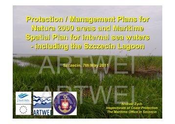 Maritime Spatial Plan for internal sea waters - Baltic Lagoon Network
