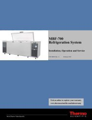 User Manual for Thermo Scientific Dual Safe MBF700 - LABRepCo