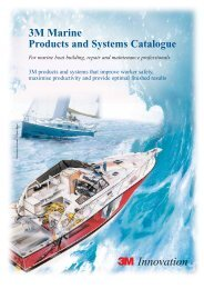 3M Marine Products and Systems Catalogue For marine boat ...