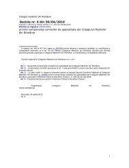 Decizie CMR nr. 6 din 30.04.2010