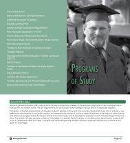 GENERAL EDUCATION TRANSFER PROGRAMS - Gavilan College