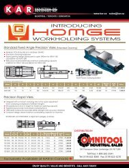 HOMGE Workholding Systems Now Available - Omnitool