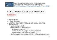 Strutture Miste Acciaio-cls Lezione 1 - Ablaweb.com