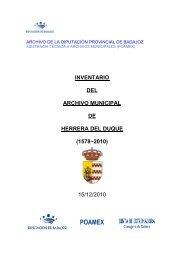 Herrera del Duque - Diputación de Badajoz