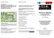 Organisation/Kontakt - Arbeiten + Lernen an Lippe + Emscher