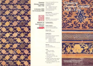 """Download Flyer """"Classical Chinese Carpets"""" as pdf 575KB"""