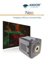 Imaging without compromise - Andor Technology