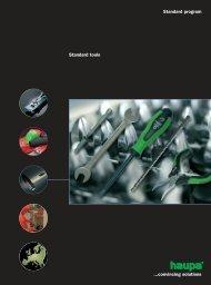 Standard program Standard tools ...convincing solutions - Surgetek