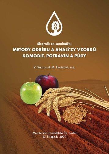 sborník (PDF - 6,35 MB) - Vědecký výbor fytosanitární a životního ...