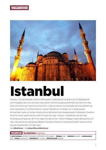 Snabbfakta Istanbul - Vagabond