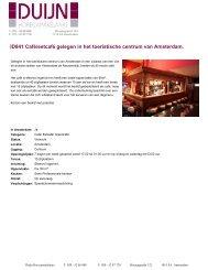 ID841 Café/eetcafé gelegen in het toeristische centrum van ...
