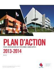 Plan d'action pour les personnes handicapées ... - Héma-Québec