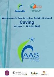 Caving - Outdoors WA