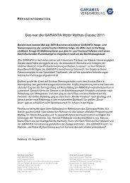 Das war die GARANTA Motor Mythos Classic 2011