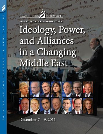 Ideology, Power, and Alliances in a Changing Middle East Ideology ...