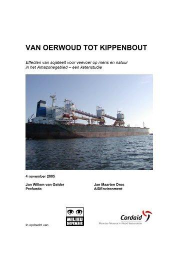 VAN OERWOUD TOT KIPPENBOUT