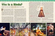 Who Is a Hindu? - Hinduism Today Magazine