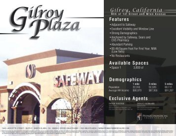 Gilroy Plaza - Prime Commercial, Inc