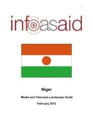 media landscape guide about Niger - Internews