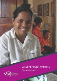 Valuing Health Workers Cambodia Report (2013) - VSO
