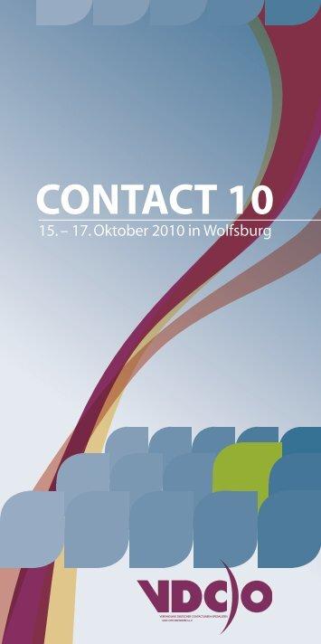 contact 10 - Vereinigung Deutscher Contactlinsen-Spezialisten e.V.