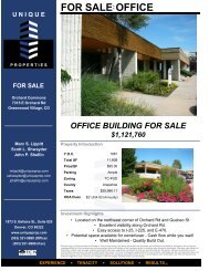 OFFICE FOR SALE - Property Line