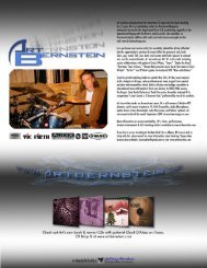 pdf chart of the tune - Vic Firth