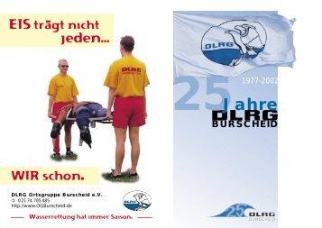 25Jahre - DLRG Ortsgruppe Burscheid eV