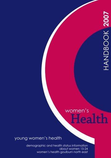 Download Handbook - Women's Health Goulburn North East