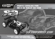 PARTS CATALOG FOR EB-4 S2 RALLY SC CAR - Powertoys