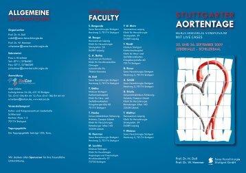 Stuttgarter Aortentage:Layout 1.qxd - Sana Herzchirurgie Stuttgart