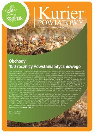 Kurier Powiatowy - marzec (1) - Powiat koniński