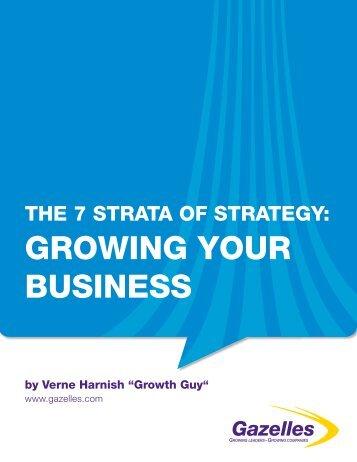 Seven Strata of Strategy - Gazelles