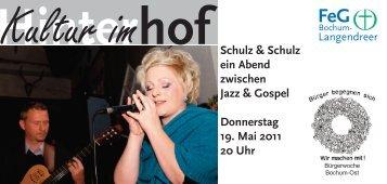 Schulz & Schulz Jazz & Gospel - FeG Bochum-Langendreer