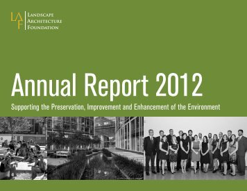 View/Download PDF - Landscape Architecture Foundation