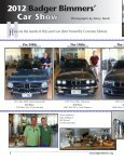 July-August 2012 - Badger Bimmers - Page 6