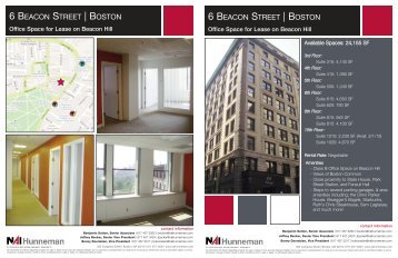 6 beacon street ... - NAI Global